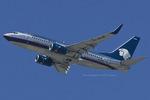 Scotchさんが、ロサンゼルス国際空港で撮影したアエロメヒコ航空 737-752の航空フォト(飛行機 写真・画像)