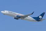 Scotchさんが、ロサンゼルス国際空港で撮影したアエロメヒコ航空 737-852の航空フォト(飛行機 写真・画像)