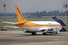 kinsanさんが、スカルノハッタ国際空港で撮影したエアファスト インドネシア 737-27A/Advの航空フォト(飛行機 写真・画像)