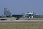 Scotchさんが、ヴェンチュラ・カウンティ=ポイントムグ海軍航空ステーションで撮影したアメリカ空軍 F-15E-47-MC Strike Eagleの航空フォト(写真)
