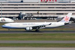 PINK_TEAM78さんが、羽田空港で撮影したチャイナエアライン A330-302の航空フォト(写真)