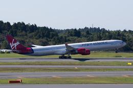 Severemanさんが、成田国際空港で撮影したヴァージン・アトランティック航空 A340-642の航空フォト(写真)