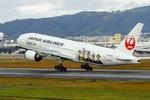 うえぽんさんが、伊丹空港で撮影した日本航空 777-289の航空フォト(写真)