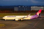 パンダさんが、新千歳空港で撮影したハワイアン航空 767-33A/ERの航空フォト(写真)