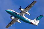 パンダさんが、新千歳空港で撮影したサハリン航空 DHC-8-200Q Dash 8の航空フォト(写真)