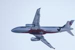 カヤノユウイチさんが、関西国際空港で撮影したジェットスター・ジャパン A320-232の航空フォト(飛行機 写真・画像)