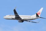 パンダさんが、新千歳空港で撮影したJALエクスプレス 737-846の航空フォト(写真)