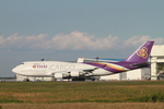 matsuさんが、成田国際空港で撮影したタイ国際航空 747-4D7(BCF)の航空フォト(写真)