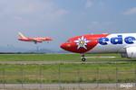 mojioさんが、静岡空港で撮影したエーデルワイス航空 A330-243の航空フォト(飛行機 写真・画像)