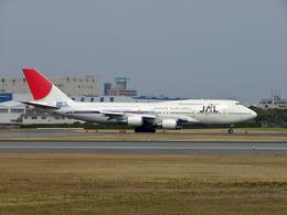 koyajiさんが、伊丹空港で撮影した日本航空 747-446Dの航空フォト(飛行機 写真・画像)