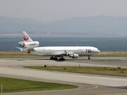 koyajiさんが、関西国際空港で撮影した日本航空 MD-11の航空フォト(飛行機 写真・画像)