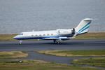 パンダさんが、羽田空港で撮影したラスベガス サンズ G-IVの航空フォト(飛行機 写真・画像)