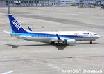 snowmanさんが、中部国際空港で撮影した全日空 737-881の航空フォト(写真)