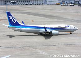 snowmanさんが、中部国際空港で撮影した全日空 737-881の航空フォト(飛行機 写真・画像)