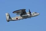 しんさんが、那覇空港で撮影した航空自衛隊 E-2C Hawkeyeの航空フォト(写真)