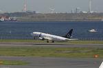 夏奈さんが、羽田空港で撮影した全日空 737-881の航空フォト(写真)