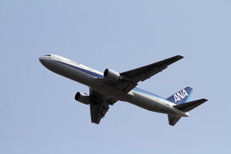 Frightmenさんの全日空 Boeing 767-300 (JA616A) 航空フォト