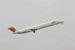 chalk2さんが、羽田空港で撮影した日本航空 MD-90-30の航空フォト(写真)