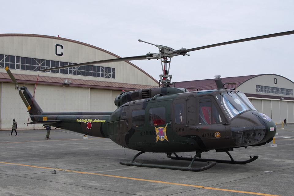 kanade/Ryo@S.O.R.A.さんの陸上自衛隊 Fuji UH-1H (41714) 航空フォト