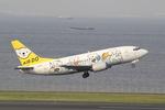 chalk2さんが、羽田空港で撮影したAIR DO 737-54Kの航空フォト(写真)