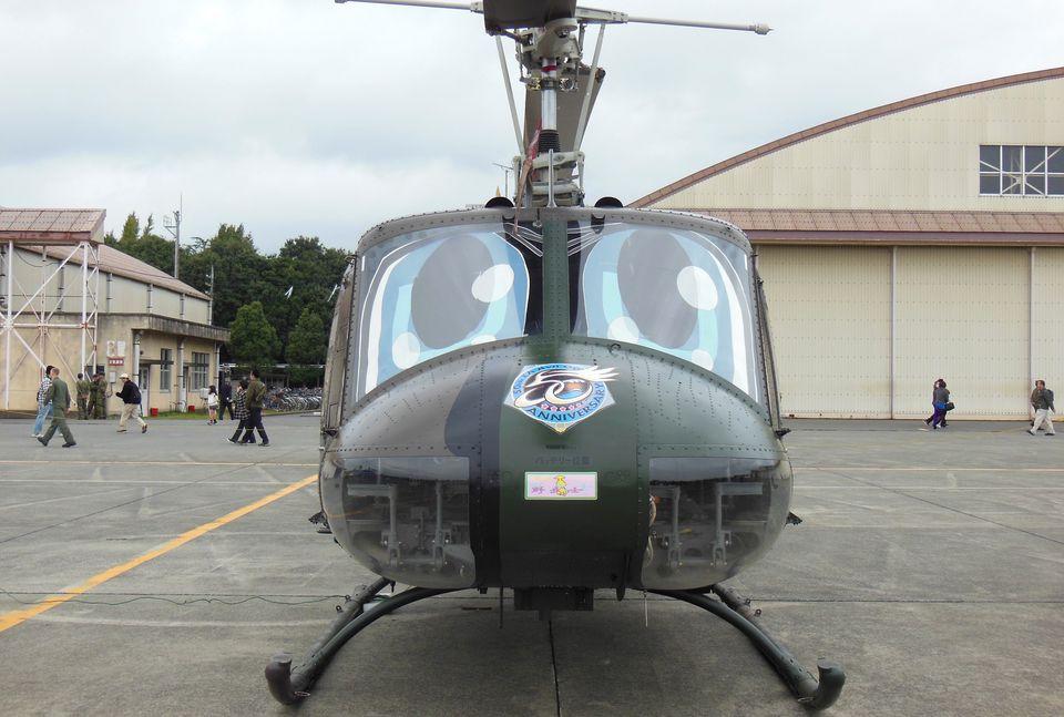 木人さんの陸上自衛隊 Fuji UH-1H (41714) 航空フォト
