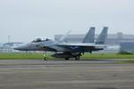 しんさんが、千歳基地で撮影した航空自衛隊 F-15DJ Eagleの航空フォト(写真)