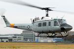 Chofu Spotter Ariaさんが、立川飛行場で撮影したアメリカ空軍 UH-1N Twin Hueyの航空フォト(飛行機 写真・画像)
