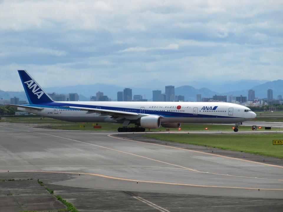 aquaさんの全日空 Boeing 777-300 (JA751A) 航空フォト