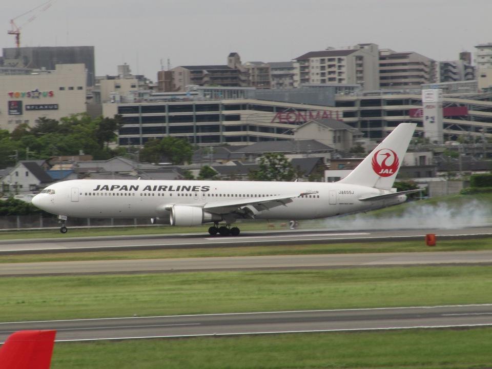 aquaさんの日本航空 Boeing 767-300 (JA655J) 航空フォト