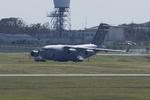 xxxxxzさんが、嘉手納飛行場で撮影したアメリカ空軍 C-17A Globemaster IIIの航空フォト(飛行機 写真・画像)