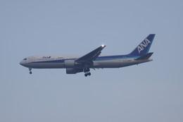 しかばねさんが、スワンナプーム国際空港で撮影した全日空 767-381/ERの航空フォト(飛行機 写真・画像)