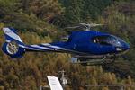 へりさんが、静岡ヘリポートで撮影した静岡エアコミュータ EC130B4の航空フォト(写真)