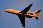 パンダさんが、成田国際空港で撮影したFALCON ADMINISTRATION LLC Falcon 900EXの航空フォト(写真)