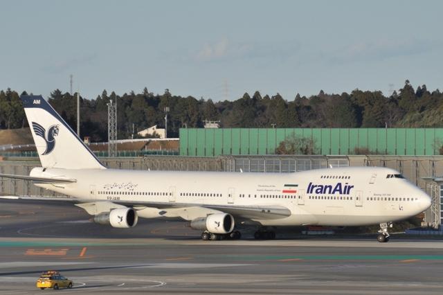 イラン航空 Boeing 747-100 EP-I...