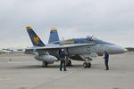 Scotchさんが、厚木飛行場で撮影したアメリカ海軍 F/A-18C Hornetの航空フォト(写真)