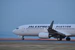 snow_shinさんが、北九州空港で撮影した日本航空 737-846の航空フォト(飛行機 写真・画像)