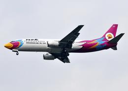 RA-86141さんが、スワンナプーム国際空港で撮影したノックエア 737-4Q8の航空フォト(飛行機 写真・画像)