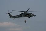 しんさんが、築城基地で撮影した航空自衛隊 UH-60Jの航空フォト(写真)