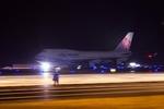 うえぽんさんが、関西国際空港で撮影したチャイナエアライン 747-409の航空フォト(写真)