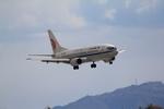 ふじいあきらさんが、広島空港で撮影した中国国際航空 737-3J6の航空フォト(飛行機 写真・画像)