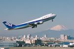 SKYLINEさんが、羽田空港で撮影した全日空 747SR-81の航空フォト(写真)