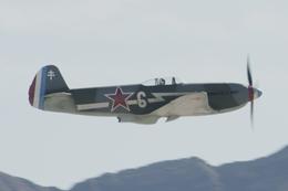 eagletさんが、ネリス空軍基地で撮影したAir Museum Yak-3Uの航空フォト(飛行機 写真・画像)