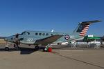 Scotchさんが、ノースアイランド海軍航空ステーション・ハスレーフィールドで撮影したアメリカ海軍 TC-12B Super King Air (A200C)の航空フォト(飛行機 写真・画像)