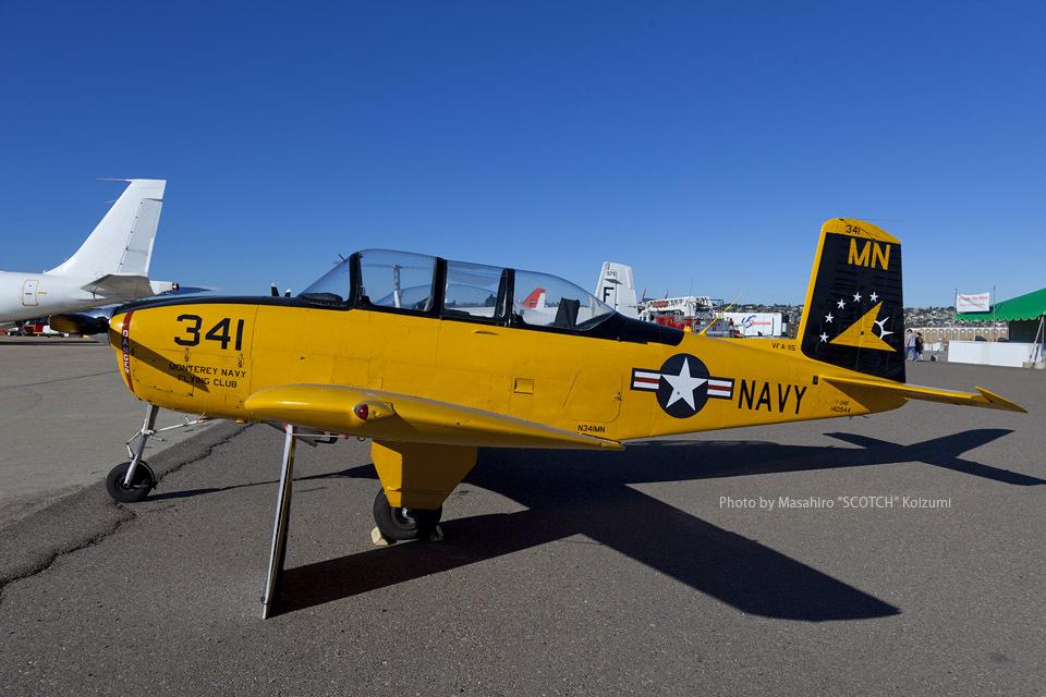 ScotchさんのMonterey Navy Flying Club Beechcraft 45 Mentor (N341MN) 航空フォト
