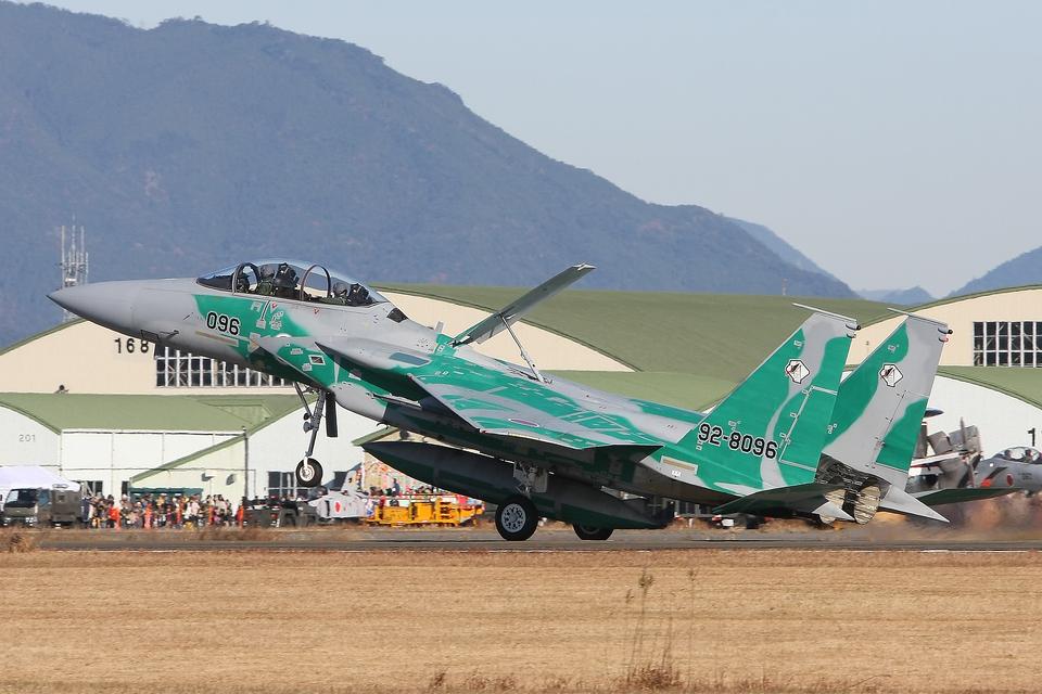 speedbirdさんの航空自衛隊 Mitsubishi F-15DJ Eagle (92-8096) 航空フォト