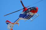 パンダさんが、成田国際空港で撮影した毎日新聞社 EC135T1の航空フォト(写真)