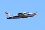 パンダさんが、成田国際空港で撮影した日本個人所有 PA-28R-201T Turbo Arrow IIIの航空フォト(写真)
