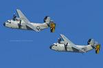 Scotchさんが、ノースアイランド海軍航空ステーション・ハスレーフィールドで撮影したアメリカ海軍 C-2A Greyhoundの航空フォト(飛行機 写真・画像)