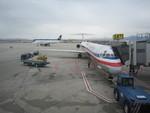 hgenさんが、ソルトレークシティ国際空港で撮影したアメリカン航空 MD-83 (DC-9-83)の航空フォト(写真)