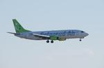 パンダさんが、羽田空港で撮影したソラシド エア 737-46Mの航空フォト(写真)